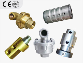 Rotary joint for rubber and plastic industry