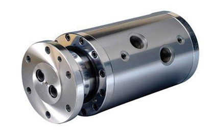 2 channel high pressure hydraulic air rotary joint