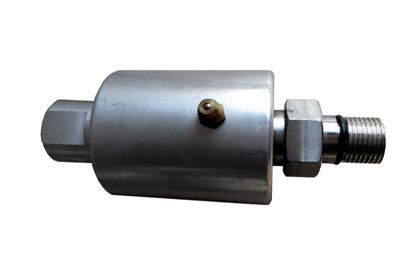 High pressure high speed rotary union for machine tool